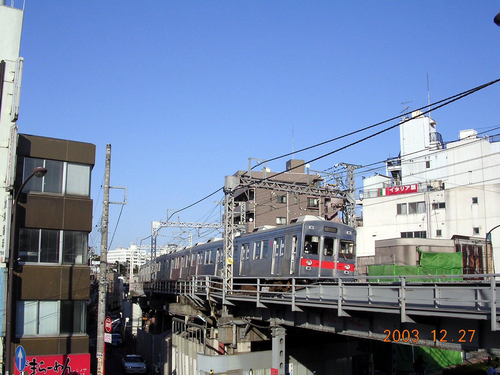 東急東横線-反町駅周辺