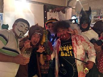 Halloween Party in Shibuya