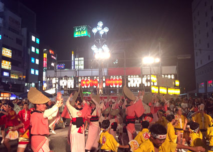 2018年高円寺阿波踊り