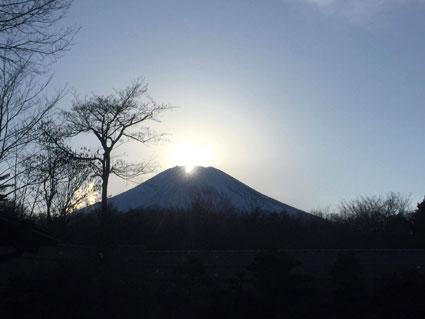 2019年1月19日 ダイヤモンド富士