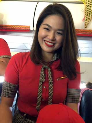 Vietjet's first direct flight from Japan to Vietnam