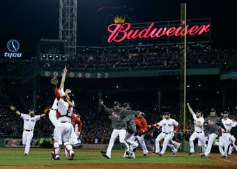 ワールドシリーズでボストンレッドソックス頂点へ