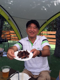 VACATIONS BBQ IN 東京夢の島マリーナ