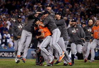 アストロズ、ドジャースを下して初めてのメジャーリーグ制覇