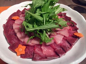 ラバ吉の極上築地の旨い魚と肉を食す会