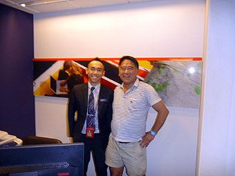 2013年6月10日 HSBC香港オーシャンセンター支店
