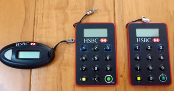 HSBC Hong Kong Security Devices