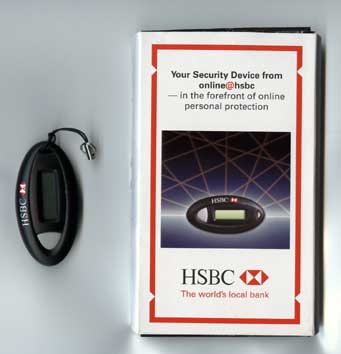 HSBC Hong Kong Security Device