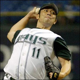 Hideo Nomo, 200th career win - combined between Japan and the Major Leagues