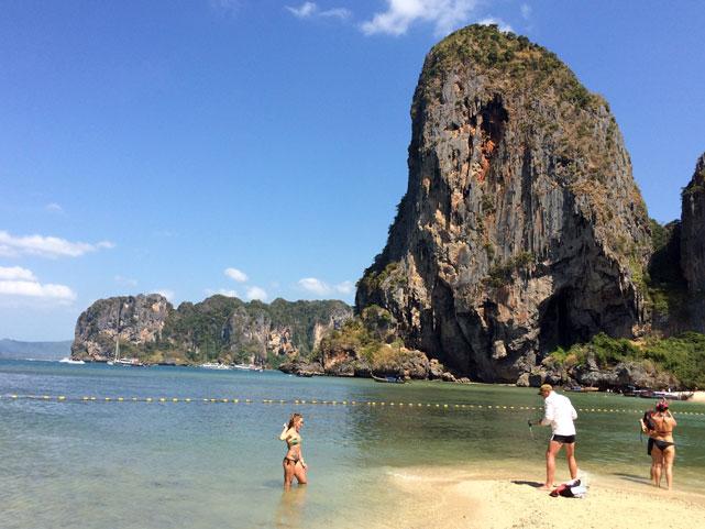 Phra Nang Beach, Thailand