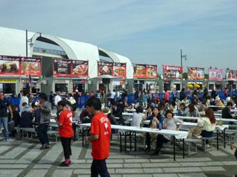 肉フェス IN 駒沢オリンピック公園