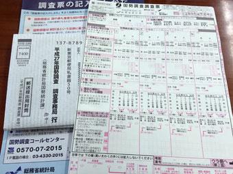 平成27年(2015年)国勢調査