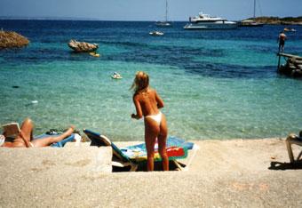 Illetes Beach, Mallorca Island, Spain