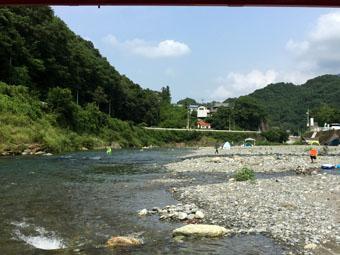 日本一の清流・穴吹川