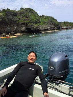 沖縄・青の洞窟