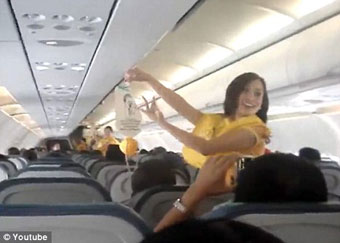 Cebu Pacific FAs dancing