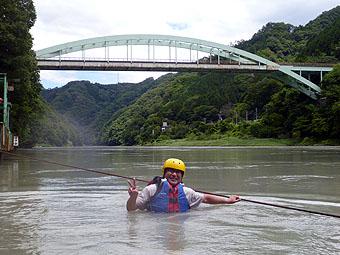 ダッキーボート天竜峡ファミリーコース