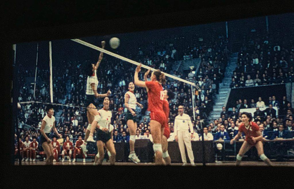 映画「東京オリンピック」-女子バレーボール決勝 日本対ソ連
