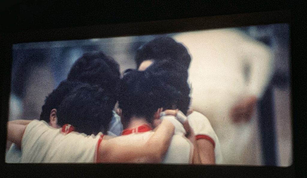映画「東京オリンピック」-女子バレーボール決勝 日本がソ連を破り優勝