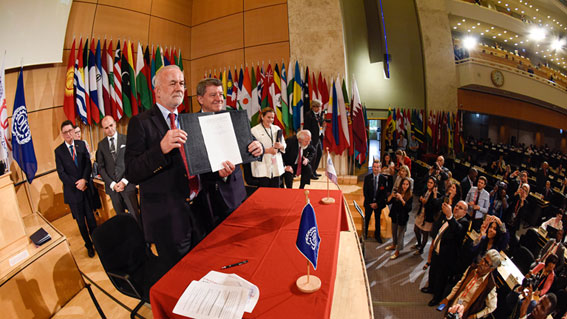 第108回ILO総会