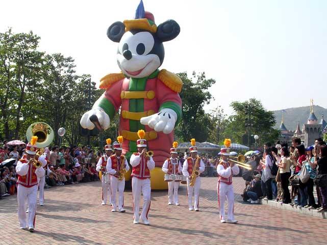 香港ディスニーランド