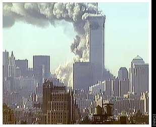米中枢テロ勃発の瞬間
