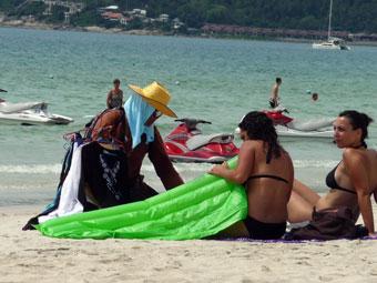 サムイ島のチャウェンビーチ(Chaweng Beach)