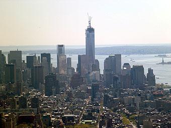 エンパイアステートビルからの眺め