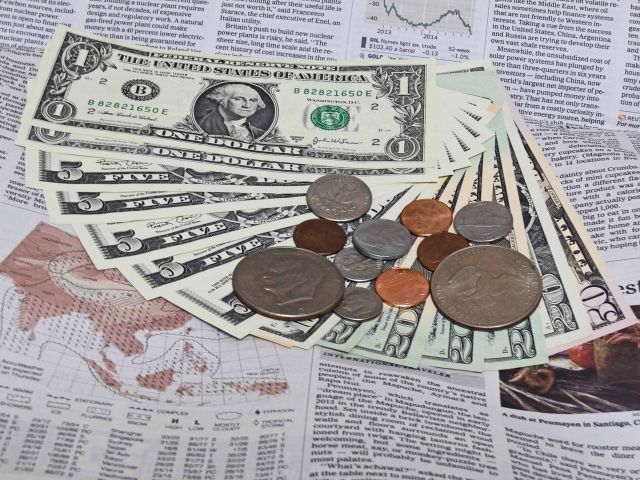 外貨と英字新聞