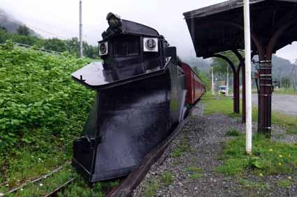 三菱大夕張鉄道保存地