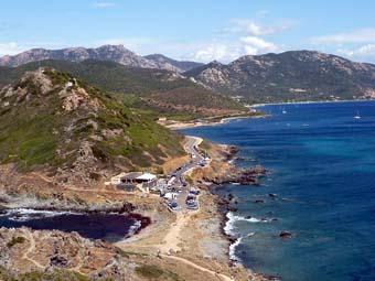 コルシカ島のパラタの塔(Tour de la Parata)