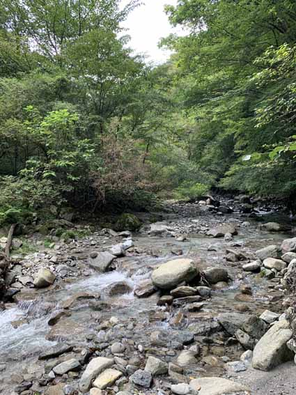 第3堰堤から西澤堰堤を経て本棚・下棚へ