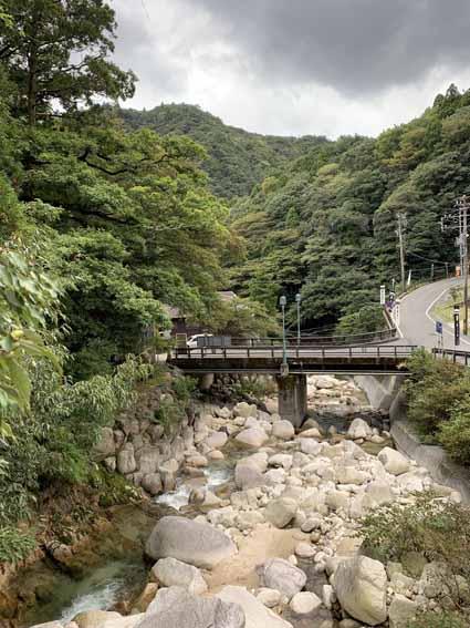 湯の山温泉 涙橋