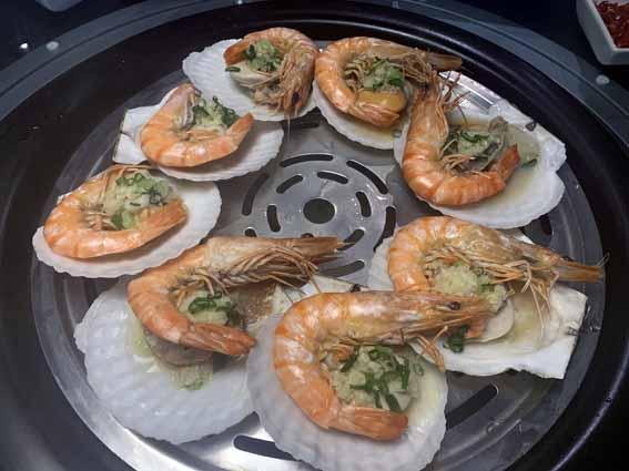 漉 海鮮蒸気鍋