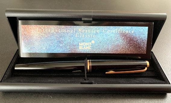 モンブラン万年筆221(Montblanc fountain pen 221)