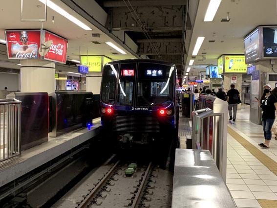 相鉄線横浜駅