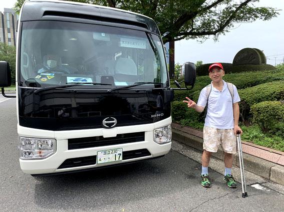新木場駅-東京夢の島行き無料シャトルバス