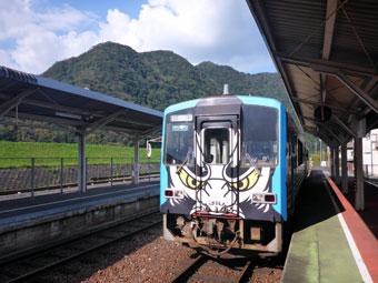 JR三江線 石見川本駅