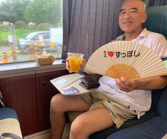 小田急線ロマンスカー「はこね14号」