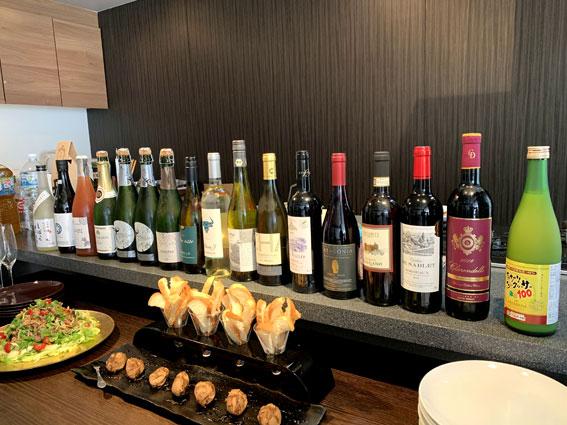 夏のワインパーティ
