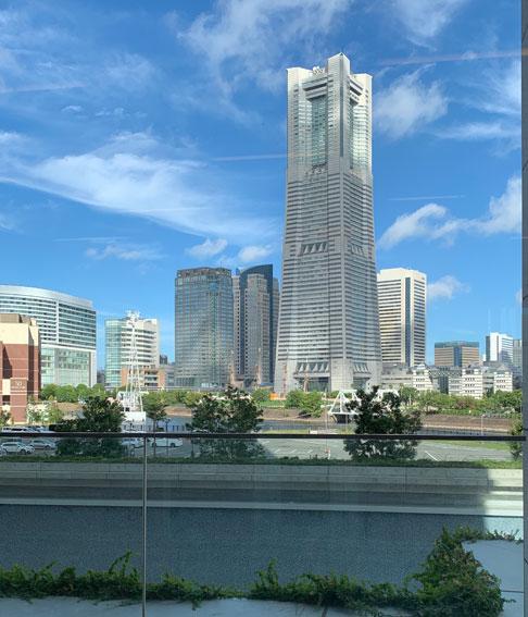 アパホテル&リゾート横浜ベイタワーからの眺め