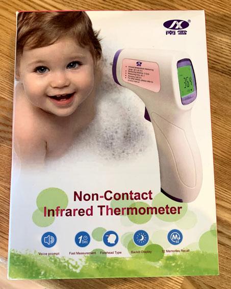 非接触型赤外線体温計(Non-Contact Infrared Thermometer)