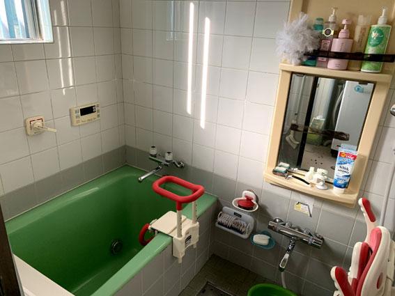 自宅の浴室