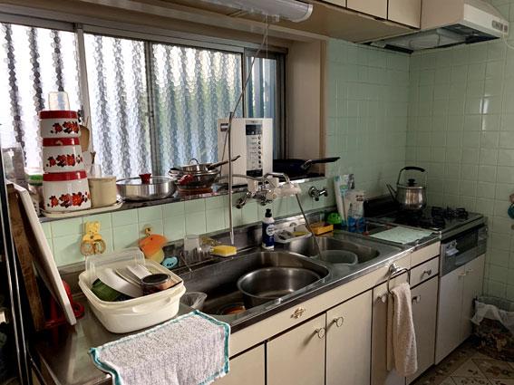 自宅の台所