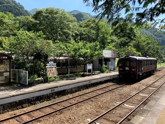 わたらせ渓谷鉄道 神戸駅(ごうどえき)