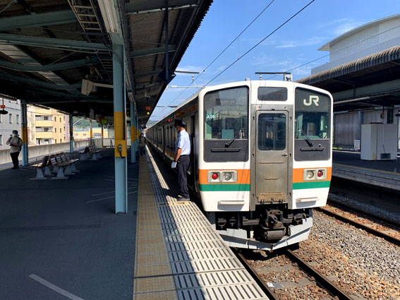 JR両毛線 桐生駅