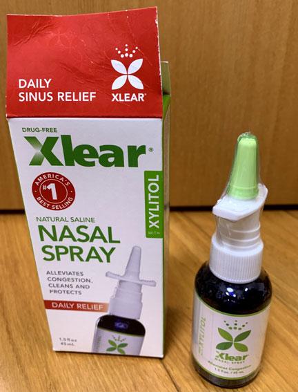 Xlear Nasal Spray(クリア社点鼻薬)