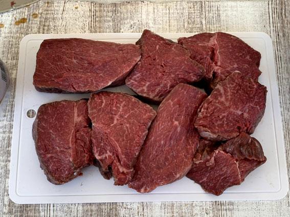 ラバ吉極上肉のバーベキュー